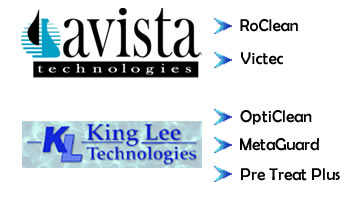 Avista Technologies, RoClean,Vitec, King Lee, Opticlean,Metaguard